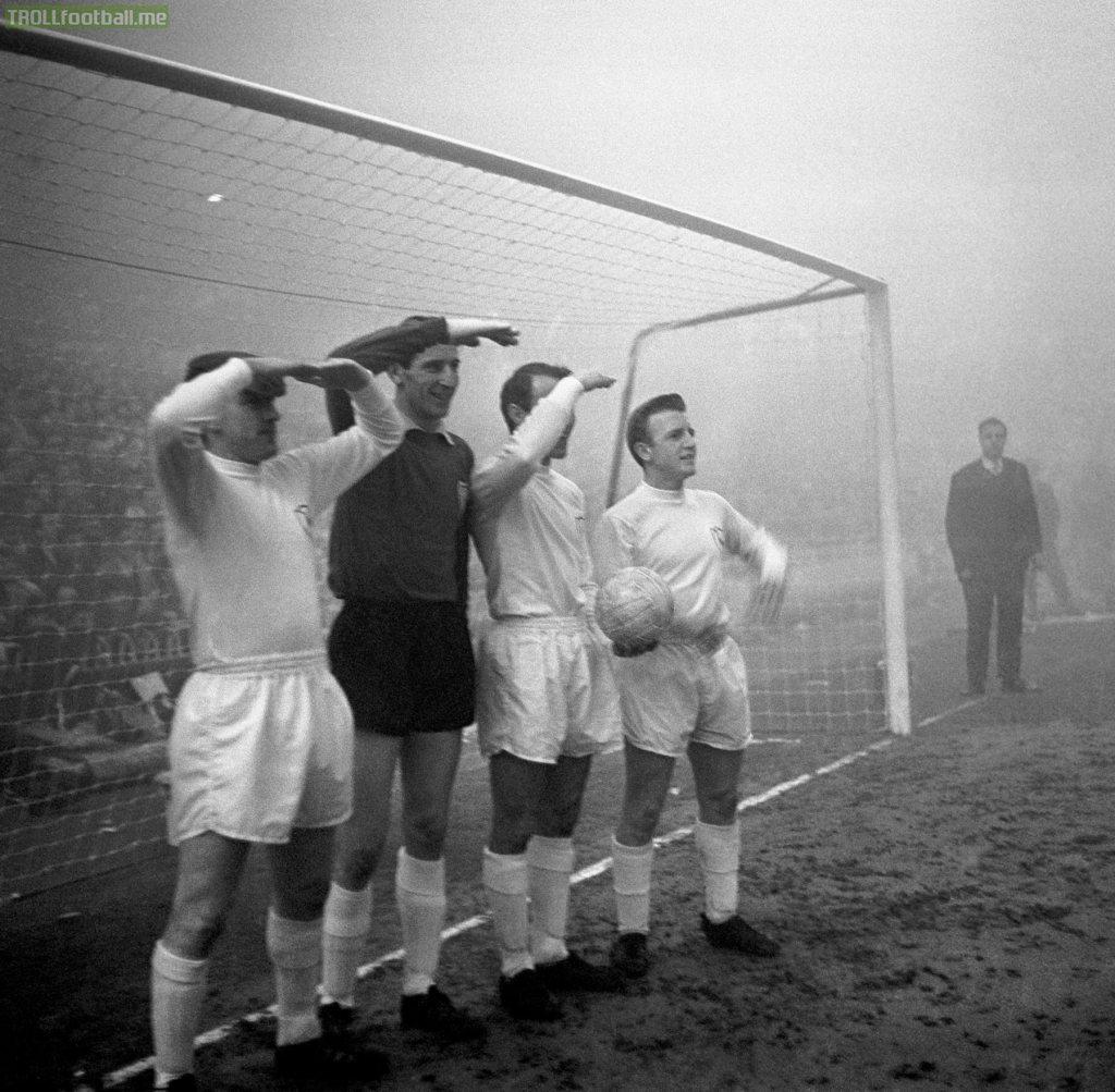 Spurs vs Manchester United November 11th 1963
