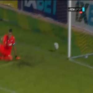 Tobol 1-0 Hajduk Split [1-2 on agg.] - Dusan Jovancic 56'