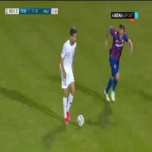 Tobol 2-0 Hajduk Split [2-2 on agg.] - Igor Sergeev 61'