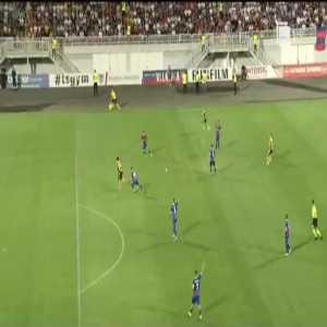 Vllaznia 0-1 AEL Limassol [0-2 on agg.] - Stefan Scepovic