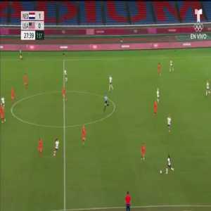 Netherlands 1-1 USA: Lloyd 28'