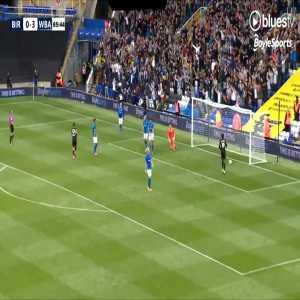 Birmingham City 0-4 West Bromwich Albion - Tulloch 86'