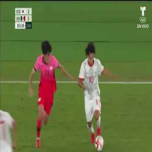 South Korea 2-[6] Mexico - E. Aguirre 84' - Mens Olympics Quarter Finals