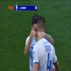 Dynamo Kyiv 1-0 Veres Rivne - Denys Popov 4'