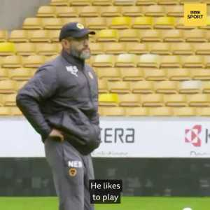 """Lucas Moura on Nuno: """"I'm happy because Nuno also speaks Portuguese like Mourinho did. Communication is easier for me. But Mourinho is different, Nuno is more quiet. I don't know if I can grow the same beard but we already have the same hair."""""""
