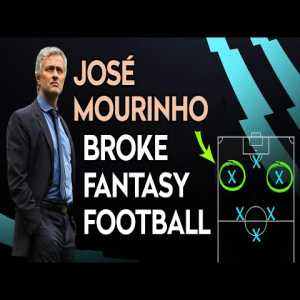 The story of how José Mourinho broke Fantasy Football (with the introduction of 4-3-3 to the Premier League in 2004)