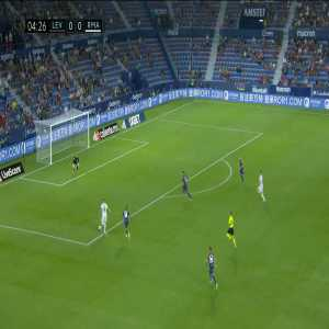 Levante 0-1 Real Madrid: Gareth Bale goal 5'
