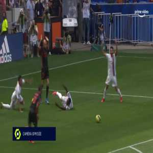 Lyon 1-0 Clermont - Moussa Dembele penalty 5'