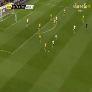 Tottenham 1-0 Paços Ferreira [1-1 on agg.] - Harry Kane 9'