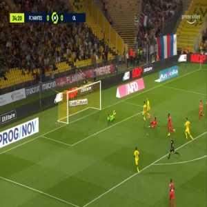 Nantes 0-1 Lyon - Moussa Dembele 35'