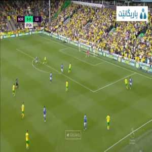 Norwich City 0 - [1] Leicester City - Jamie Vardy 8'