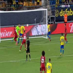 Cadiz 2-[2] Osasuna - Roberto Torres penalty 90'+1'