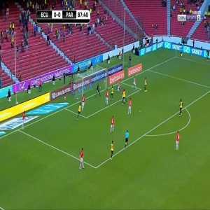 Ecuador 1-0 Paraguay - Felix Torres 89'
