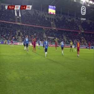 Estonia 1 - [5] Belgium - Foket 76'