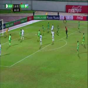 Algeria [7]-0 Djibouti - Riyad Mahrez (nice goal) 67'