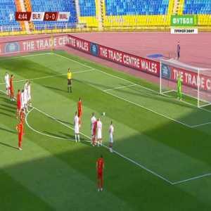 Belarus 0-1 Wales - Gareth Bale penalty 5'