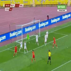 Belarus 2-[3] Wales - Gareth Bale 90'+3'