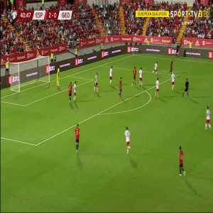Spain 3-0 Georgia - Ferran Torres 41'