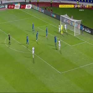Kosovo 0-2 Spain - Ferran Torres 90'