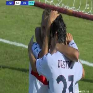 Cagliari 2-[3] Genoa - Mohamed Farès 78'