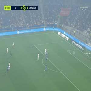 Lyon 1-0 Strasbourg - Moussa Dembele 8'