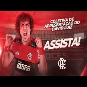 David Luiz's presentation at Flamengo