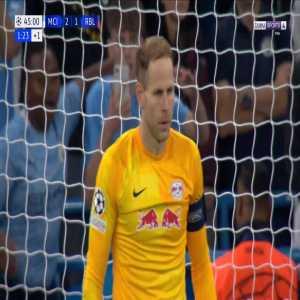 Manchester City [3]-1 RB Leipzig - Riyad Mahrez penalty 45'+2'