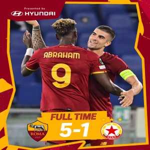 [AS Roma] beats CSKA Sofia (5-1)
