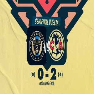 [Club America] America [LigaMX] eliminate Philadelphia Union [MLS] and have qualified for the 2021 CONCACAF Champions League Final. They will face either Cruz Azul or Monterrey, both LigaMX teams. This is the 16th year in a row a LigaMX team wins the competition.