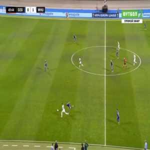 Dinamo Zagreb 0-2 West Ham - Declan Rice 50'