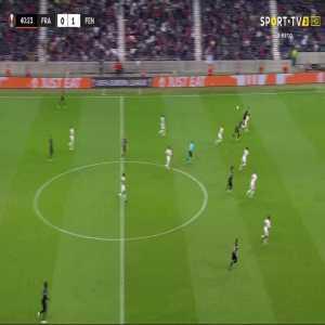 Eintracht Frankfurt [1]-1 Fenerbahce - Sam Lammers 41'