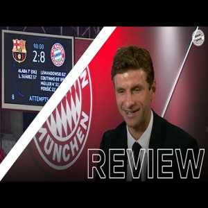 """""""It was fun being on the pitch at that time"""" - Thomas Müller on the 8-2 game against Barcelona."""