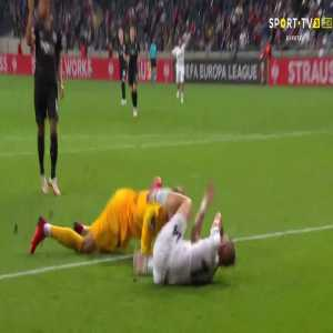 Kevin Trapp (Frankfurt) penalty save against Fenerbahce 90'+1'
