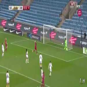 Norway W [10] - 0 Armenia W - Caroline Graham Hansen 90+4' (great goal)