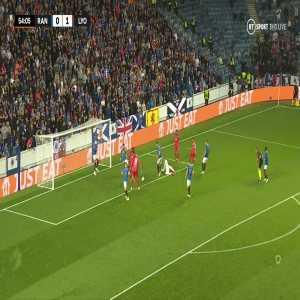Rangers 0-[2] Lyon: James Tavernier OG 55'