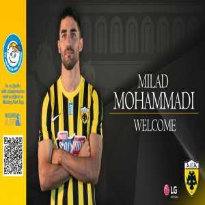 [AEK Athens] have signed Iran international LB Milad Mohammadi