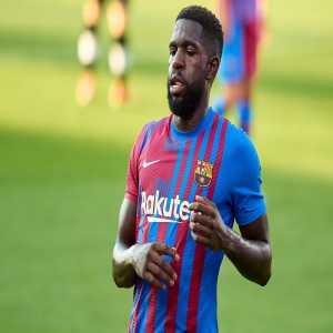 [ Albert Rogé ] Samuel Umtiti does not train due to general discomfort.