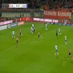 Nurnberg 1-0 Rostock - Eric Shuranov 59'