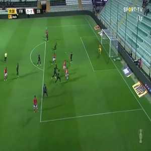 Portimonense 1-[1] Santa Clara - Rui Pedro Silva Costa 20'