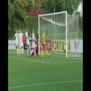 Slovakia W 0 - [1] Sweden W - Fridolina Rolfö 10'