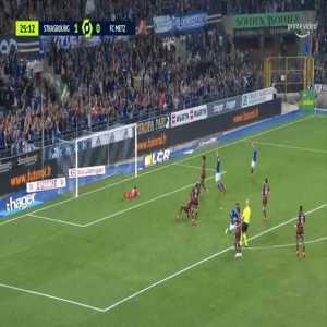Strasbourg 2-0 Metz - Habib Diallo 26'