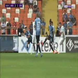 Adana Demirspor 2-[1] Rizespor - Fernando Boldrin 53'