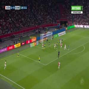 Ajax 2-0 Cambuur - Steven Berghuis 19'