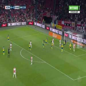 Ajax 7-0 Cambuur - Sebastien Haller 67'