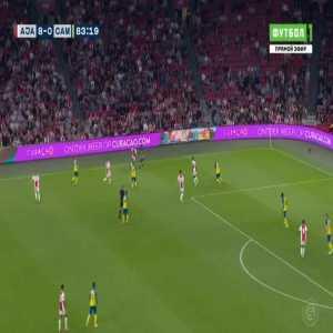 Ajax 9-0 Cambuur - David Neres 84'