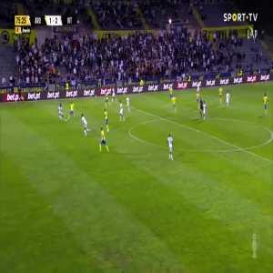 Arouca [1]-2 Vitoria Guimaraes - Oday Dabbagh 76'