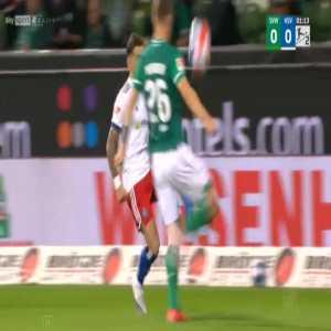 Bremen 0-1 Hamburger SV - Robert Glatzel 2'