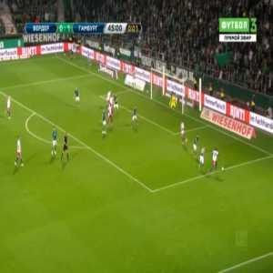 Bremen 0-2 Hamburger SV - Moritz Heyer 45'+1'