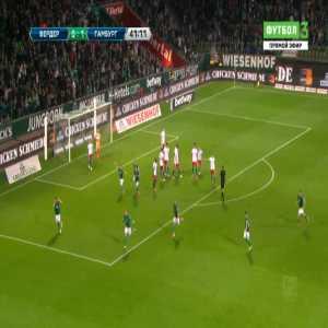 Bremen [1]-1 Hamburger SV - Marvin Ducksch free-kick 42'