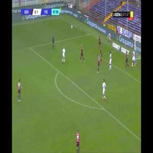 Genoa 0 v (2) Fiorentina: G. Bonaventura 89'